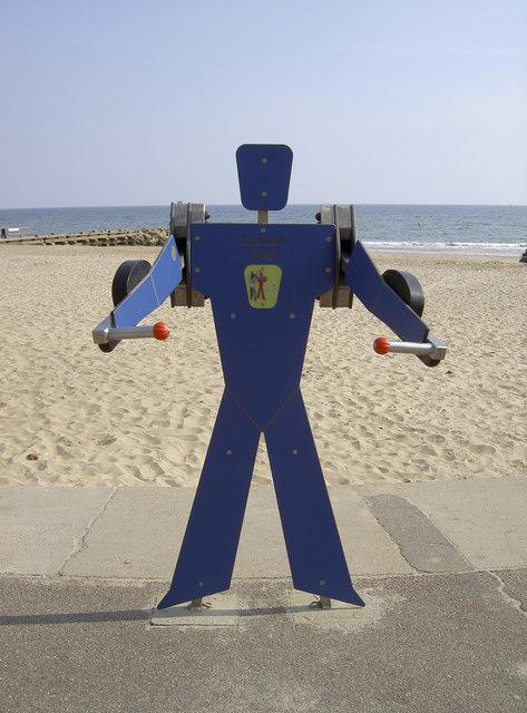 Beach body here