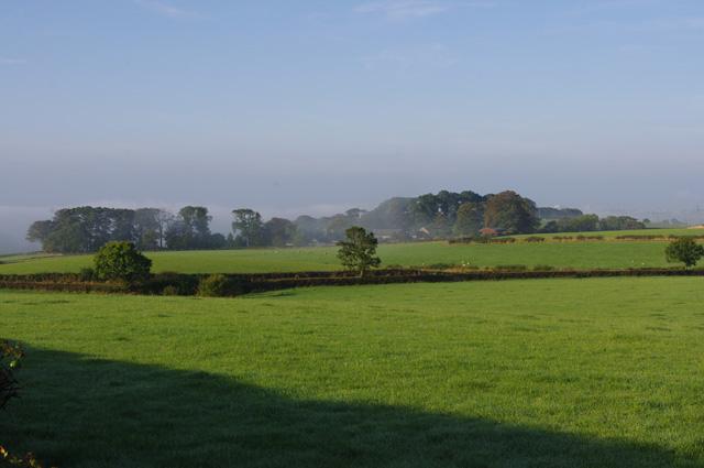Farmland near Ancliffe Hall