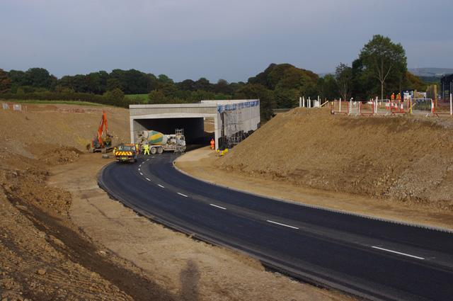 Halton Road at Shefferlands Bridge