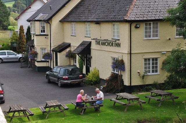Exebridge : The Anchor Inn