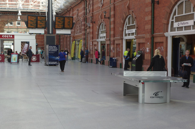 New concourse, Nottingham Station