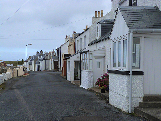 Houses at Port Wemyss