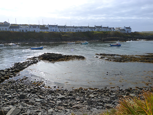 View across the bay at Portnahaven