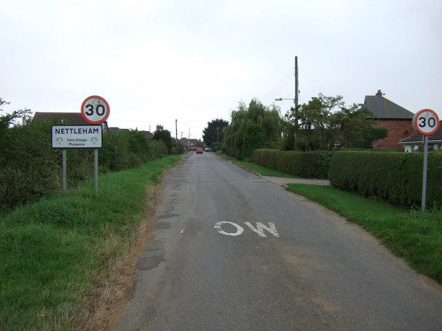 Entering Nettleham