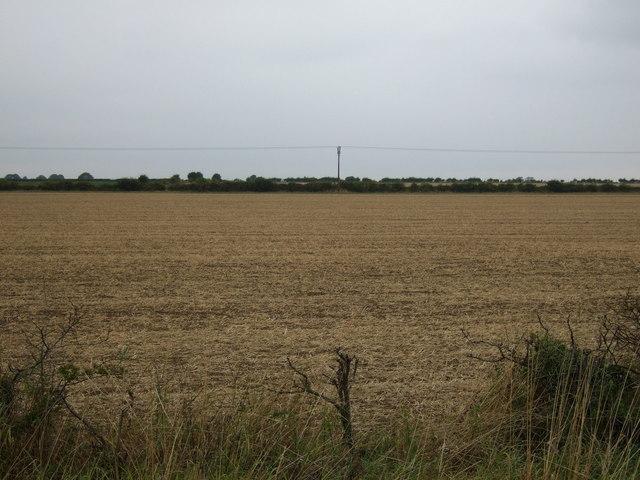 Farmland off the A158