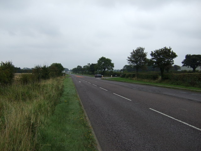 Old Roman Road towards Sudbrooke
