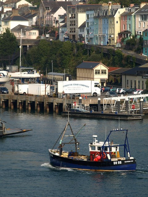 Dart at Kingswear
