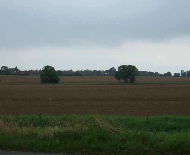 Farmland near Reepham