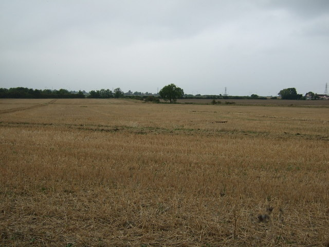 Stubble field east of Lincoln