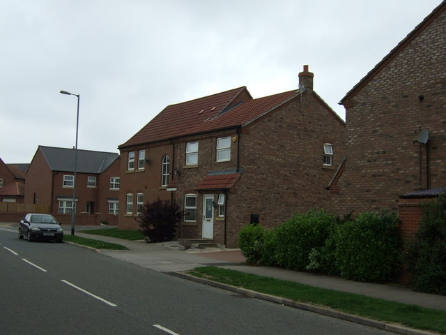Houses on St Augustine Road, Lincoln
