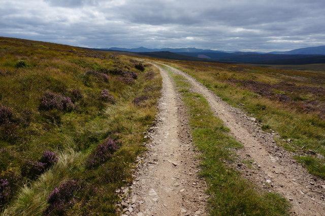 Track in Gleann a' Chrombaidh