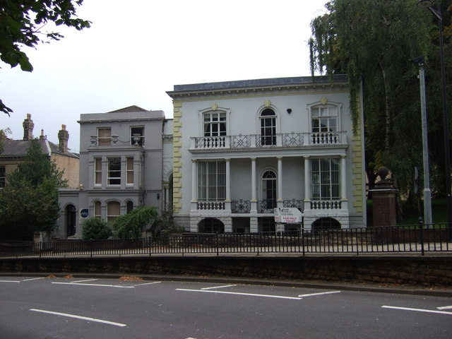 Classical house on Lindum Road, Lincoln