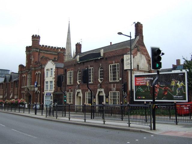 Duke of Wellington pub. Lincoln