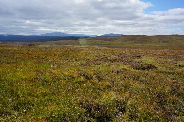 View in Gleann a' Chrombaidh