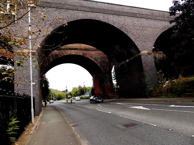 Railway viaducts, Wilmslow