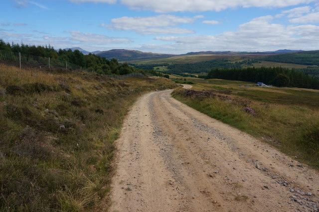 Bruar Lodge track