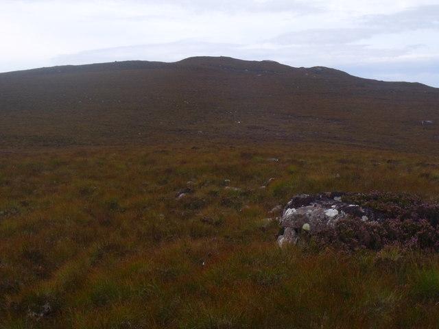 Ridge east of Cnoc Scoraig near Ullapool