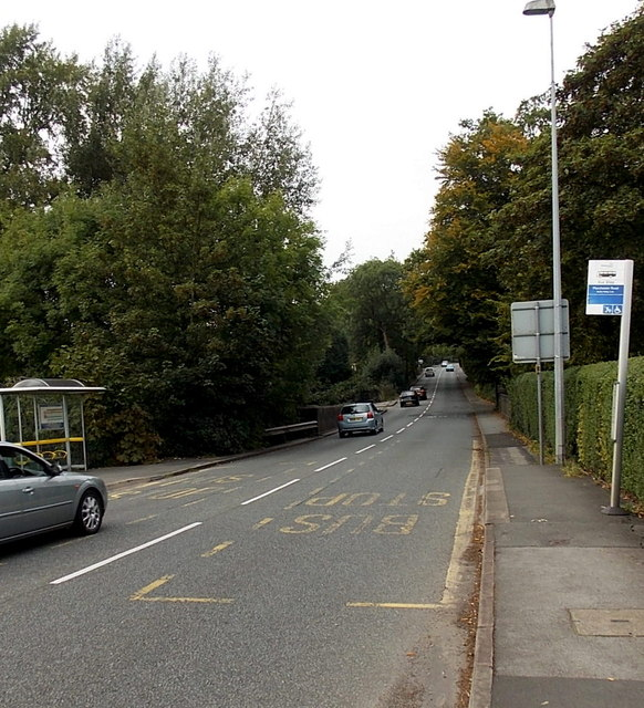 Manchester Road bus stops, Wilmslow