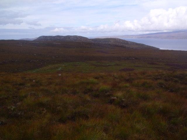 Watercourse above Annat on Scoraig peninsula near Ullapool