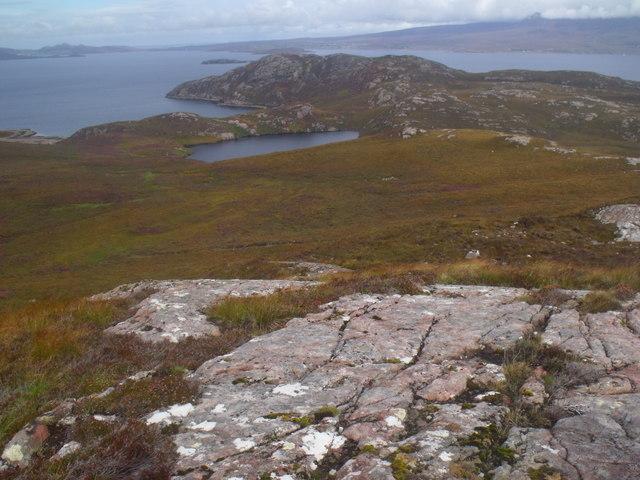 Loch Camas an Lochain near Scoraig, Ullapool