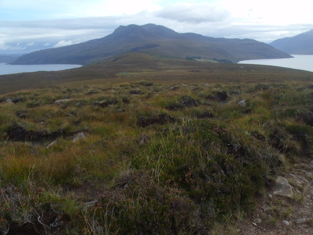 View south-east from Cnoc Scoraig near Ullapool