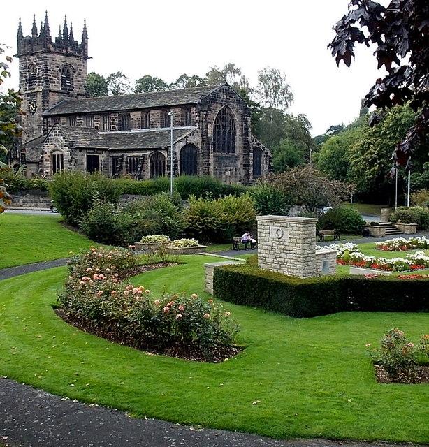 Church and War Memorial Gardens, Wilmslow