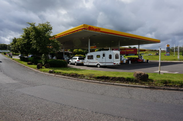 Fuel Station, Abington Services