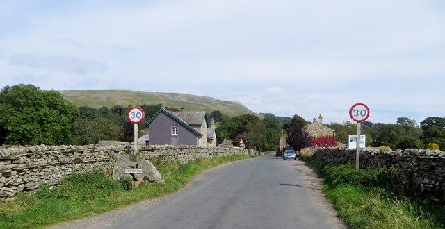 Hardraw village