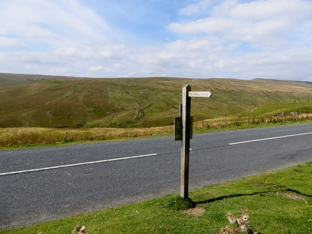 Footpath across the moor