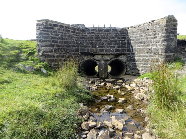 Shivery Gill flows under Buttertubs Pass
