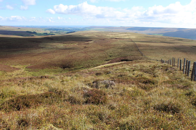 A View over Braidley Moor