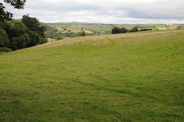 Farmland near Rhan Hir Farm