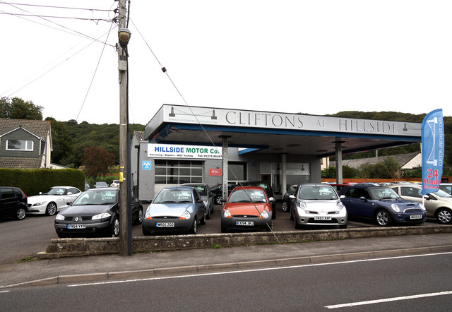Motor showroom, Tickenham