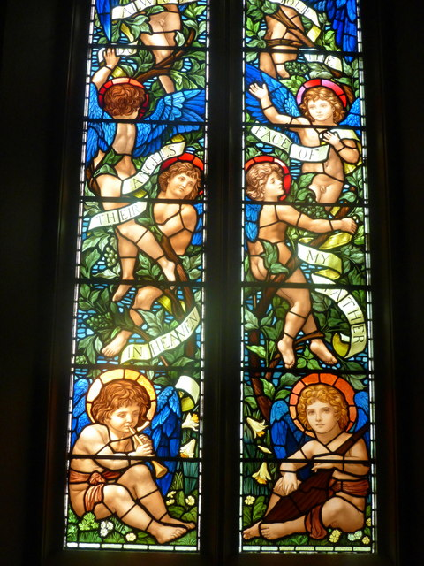 South window in St. Mary's Chapel, Rydal