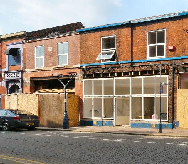 Rebuilding on Stamford Street Central