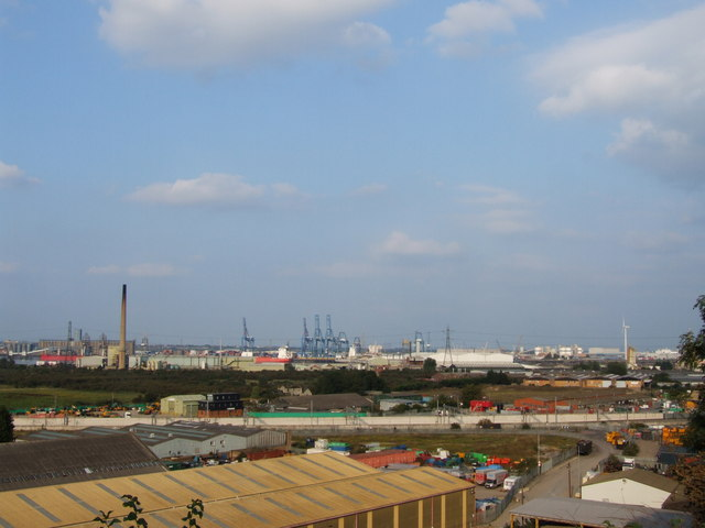 Industrial Area near Swanscombe