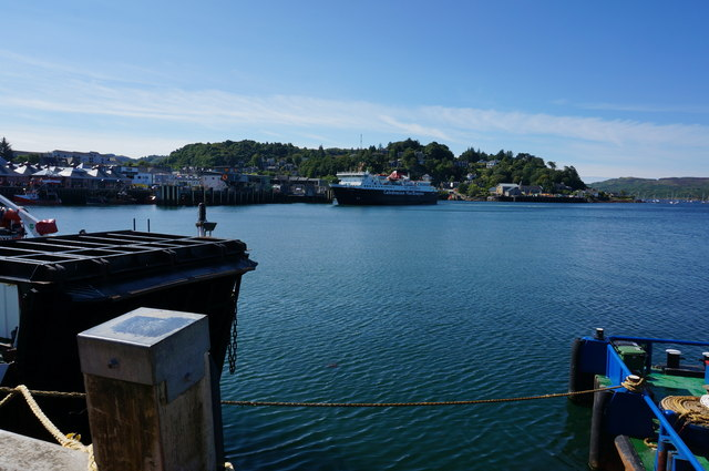 View from the North Pier, Oban
