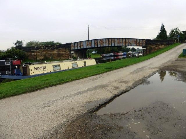 Kings Road Bridge at Foxholes Lane, Altofts