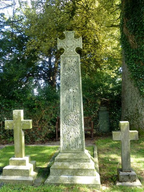 John Ruskin's grave, Coniston
