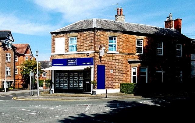 Michael J Chapman estate agents office in Alderley Edge