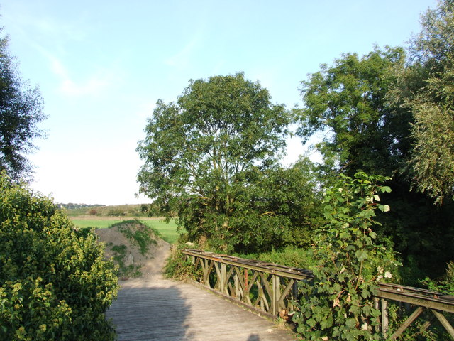 Footbridge over the River Darent