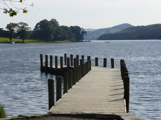 Landing stage at Monk Coniston