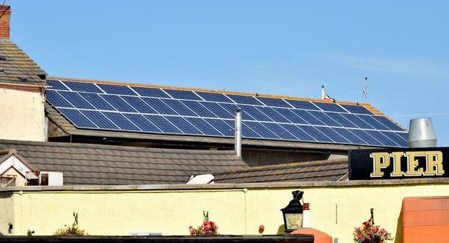 Solar panels, Donaghadee