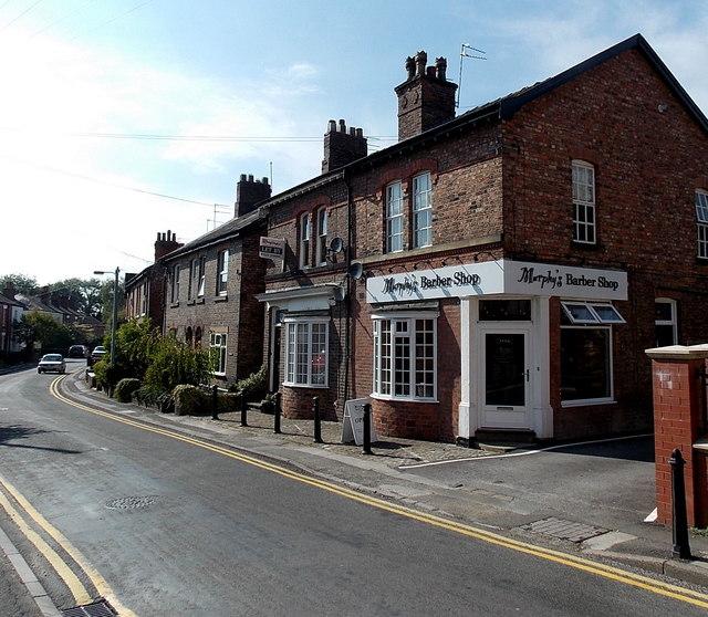 Murphy's Barbers Shop in Alderley Edge