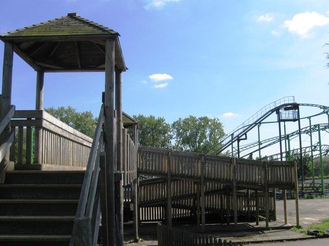 Funfair Wicksteed Park
