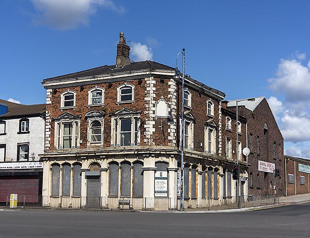 Derelict public house