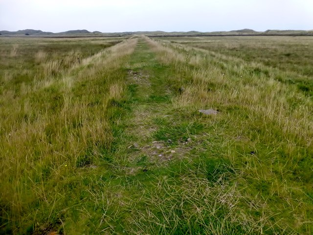 Path Heading Towards The Northern Dunes Of Lindisfarne