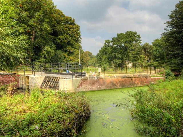 River Bollin Hydro-Electric Scheme at Quarry Bank Mill