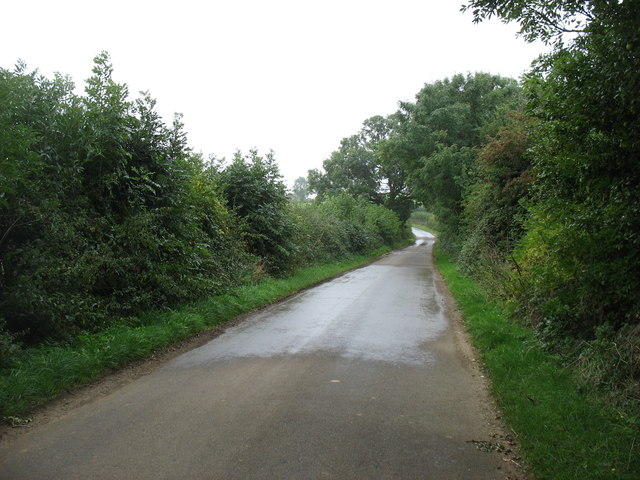 The lane to Charingworth