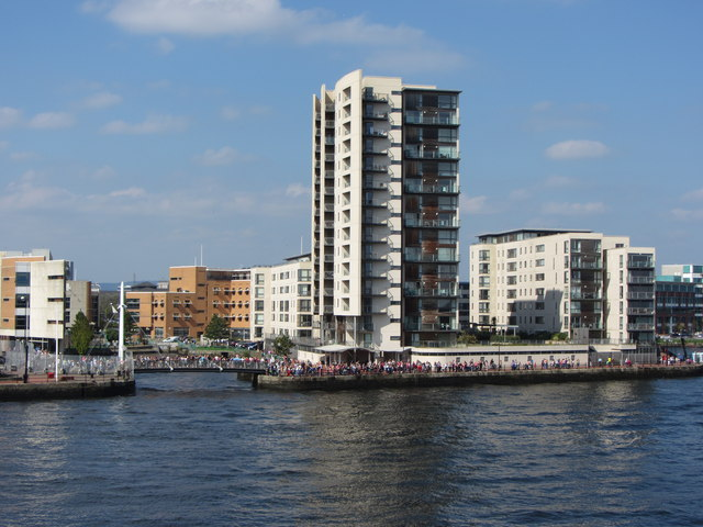 Apartments beside Roath Basin